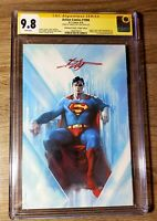 ACTION COMICS #1000 SUPERMAN BULLETPROOF VIRGIN CGC SS 9.8 SIGNED BY DELL OTTO