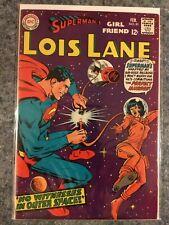 Lois Lane 81 FN- 5.5 DC Silver Age Comic Book Superman 's Girl Friend