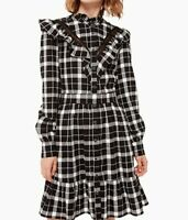 Kate Spade Broome Street Rustic Plaid Flannel Dress, XS. NEW!