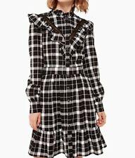 Kate Spade Broome Street Rustic Plaid Flannel Dress, XS. NEW!