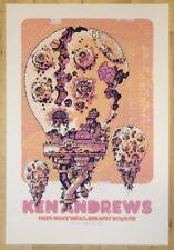 2007 Ken Andrews - Portland Silkscreen Concert Poster by Guy Burwell
