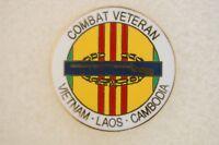 US USA Vietnam Combat Veteran Military Hat Lapel Pin