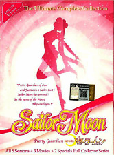 DVD ANIME SAILOR MOON Sea 1~5 + 3 Movie + 2 Special ENGLISH DUBBED + FREE DVD