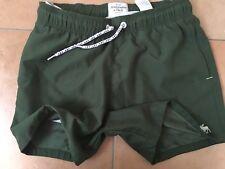 Abercrombie & Fitch Hombre shorts rojo talla M Verde *