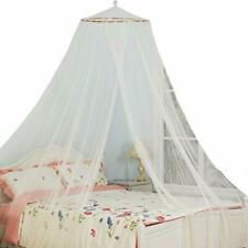 South To East King Size Bed Canopy Ivory Color Mosquito Net for Indoor/Outdoor