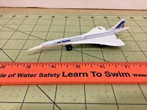 die-cast metal 1978 Matchbox Concorde supersonic jet airplane