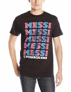F.C. Barcelona Men's Messi Stack T-Shirt Size 5xl
