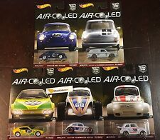 5 Car Set * AIR COOLED * Car Culture Case H * 2017 Hot Wheels