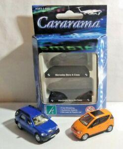 CARARAMA 1:72 DIECAST TWIN CAR PACK - MERCEDES-BENZ A CLASS & M CLASS - BOXED