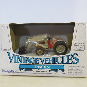 Ertl Ford 8N Tractor with Loader Vintage Vehicles 1/43  FD-2512-1HEO-B2