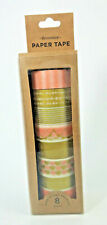Elum The Delightfully Darling Collection Paper Tape Set (8) Washi Scrapbooking