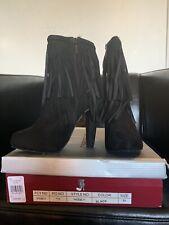 Womens Fringe Boot Size 5.5
