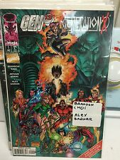 gen 13 generation x #1 signed by brandon choi alex garner