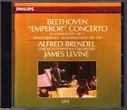 Alfred BRENDEL: BEETHOVEN Piano Concerto No.5 Sonata 31 James LEVINE CD Emperor