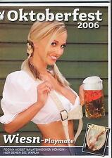 OKTOBERFEST MÜNCHEN - PLAYBOY AUSGABE-10/2006-MIT SEXY FOTOS UND WIES`N INFOS-**