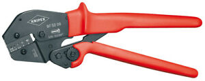 Knipex 97 52 08 Ratchet Crimping Pliers for End Sleeves Ferrules