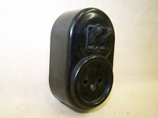 Alter Bakelit Schalter + Steckdose Aufputz Lichtschalter kombination AP Loft