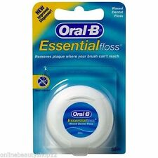 Oral B 50M esencial hilo dental regular Paquete de 2