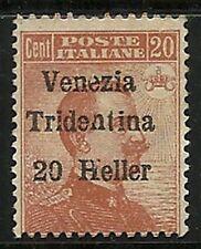 Austria Offices Abroad -  VENEZIA TRIDENTINA  1918  Scott  no. N32