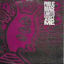 "Public Image Limited Don't Ask Me UK 45 7"" sgl +Pic Slv +Rules And Regulations"