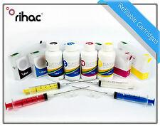 Rihac Refillable cartridge set for Epson Workforce Pro WP-4530 WP-4540 676XL