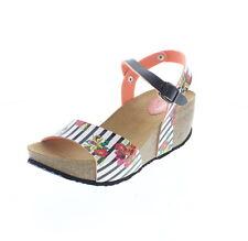 Sandali e scarpe bianche Desigual con cinturino per il mare da donna