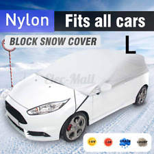 Universal Car Cover Sun Dust Protection Universal Anti UV lightweight L Size