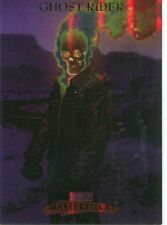 Marvel Masterpieces 2007 Fleer Foil Parallel Base Card #32 Ghost Rider