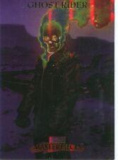 Marvel Masterpieces 2007 Fleer Foil Parallel Base Card #32 Ghost Rider