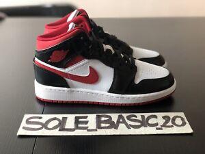 Air Jordan 1 Mid Gym Red Black White (GS) 37.5 EUR | 5Y US NEUF