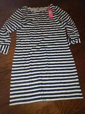 Lilly Pulitzer NWT Marlowe T-Shirt Dress 🌴 Bright Navy Positano $98 MEDIUM