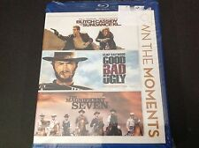 BUTCH CASSIDY - THE GOOD BAD UGLY -THE MAGNIFICENT SEVEN ( BLU RAY )