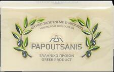 """Greek Traditional Pure White Olive Bar Soap """" Papoutsanis """" 125g"""