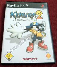 "PAL PS2 Game ""KLONOA 2 - Lunatea's Veil"", sehr gut, inkl. Manual"