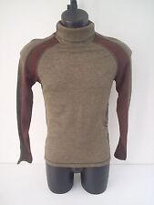 T-shirt Roberto Cavalli,dolce vita,inserti marroni,tg 46