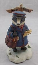 Villeroy & and Boch WINTER FOXWOOD TALES Mr Gruffey Late Delivery FT17 BM513