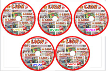 Lion Comics 954 Issues & Specials includes viewing software on 5 DVDs
