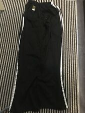 Black Martial Arts Trousers In Large