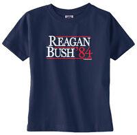Threadrock Baby Reagan Bush '84 Infant T-shirt Vintage Political