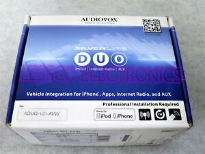 Audiovox ADUO-101-AVW Silverline DUO Integration Kit for Select Audi / VW