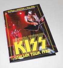 KISS 2000s  italy unofficial photo book - libro fotografico Italian Tour 1980