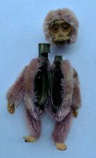 Rare Purple Schuco Monkey Powder Compact Mohair 1920s 3.5� 9cm Antique Mirror