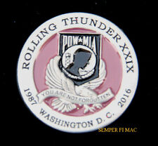 60s style Cloth Jacket Patch ROLLING THUNDER RIDE FOR SOLDIER F PP.0323