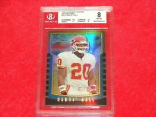 DANTE HALL CHIEFS 2000 BOWMAN CHROME REFRACTOR RC #223 BGS 8 NM-MT (19GR1)