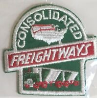 CF Consolidated Freightways driver patch 3 X 3-1/4 #4141