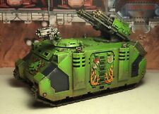 40k Space Marines Razorback Tank *painted* Salamanders, Forgeworld Upgrades