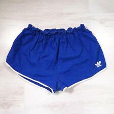 "ADIDAS 32""-34"" Vintage Cotton Sports Sprinter Running Ibiza Shorts #F2332"