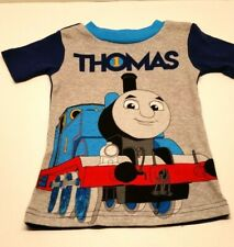 Thomas /& Friends Toddler Boys Navy Blue Tank Top Muscle Shirt