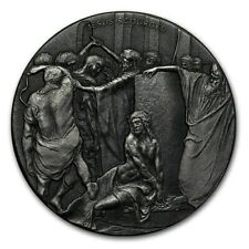 Chariot of Fire 2 oz .999 silver coin Biblical series, Bible Story 2018 Elijah