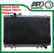 Heavy Duty 32mm Copper Radiator for TOYOTA SUPRA MA70 71 3/1986-12/1992